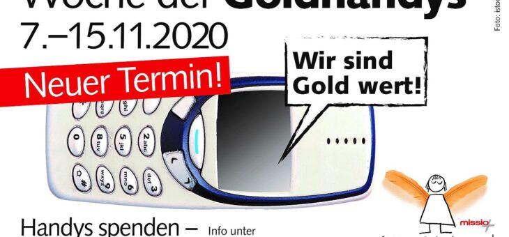 Missio – Woche der Goldhandys vom 07. bis 15.11.2020