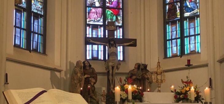 Ewiges Gebet am ersten Fastensonntag